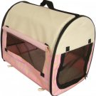 New BestPet Pet Carrier Soft Cat/Dog Travel Shoulder Bag w/Carry Case Pink
