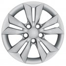 "1 Piece 16"" SONATA Silver Bolt On Wheel Cover Rim Hub Cap Hubs 5 Lug Steel Rims"