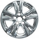 1pc 11-13 Chrome Wheel Skin Hubcap Rim Cover Car Hub Cap fits Hyundai Sonata GLS