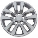 "1pc 5 Bolt /Snap On Hub Cap Wheel Cover SILVER /LACQUER FITS Altima 16"" Wheels"