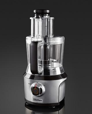New Stainless Steel VillaWar Food Processor Mixed Blender
