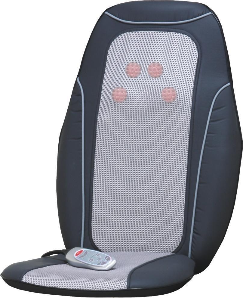 back massage mat cushion chair seat car heated heater lumbar massager shiatsu 93. Black Bedroom Furniture Sets. Home Design Ideas