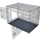 """New Black 30"""" Pet Folding Suitcase Dog Cat Crate Cage Kennel Pen w/ABS Tray"""