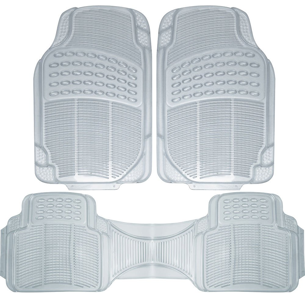 Auto Floor Mats For Ford Car Truck Suv Van 3pc Full Set