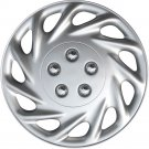 """New QTY 1 Piece Silver ABS Fits FORD ESCORT 14"""" Wheel Hub Caps"""