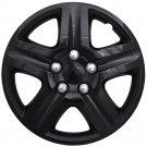 "1pc Chevy Impala Ice Gloss Black Hub Cap 5 Spoke Lug Skin 16"" Steel Wheel Covers"