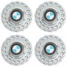 4pc Set BMW 535 Mesh Center Caps Wheels Rims Pop In Skin Hub Cover