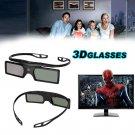 2x Universal 3D Active Shutter TV Glasses Bluetooth For Samsung Panasonic