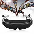 """98"""" HD Virtual Video Glasses Eyewear 3D Stereo Movie for TV Games Xbox -AV IN 8G"""