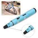 Students 3D Modeling Stereoscopic Printing Pen Drawing/Arts/Crafts w/3 Filaments