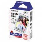 Fuji Instax Mini Films Airmail Instant Film, 2 packs of 10 Photos/pack