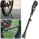 Black MTB Road Bike Mountain Bicycle Adjustable Alloy Bike Side Kickstand