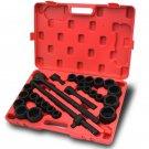 "27pc Impact Socket 3/4"" inch Drive Mechanics Metric & Standard Set 6 Points Tool"