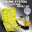 Cooling System Vacuum Radiator Kit Refill & Purge Set Universal Tools Case Auto
