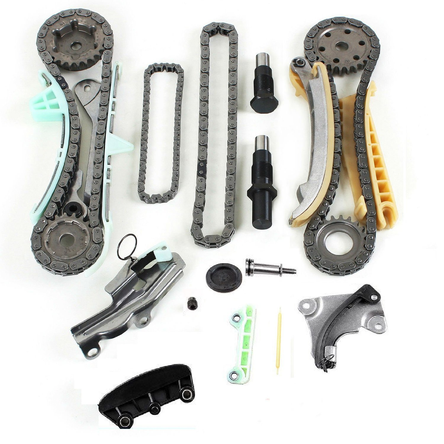 1997 Mercury Mountaineer Camshaft: 97-09 4.0L SOHC V6 Engine Timing Chain Kit W/ Gears For