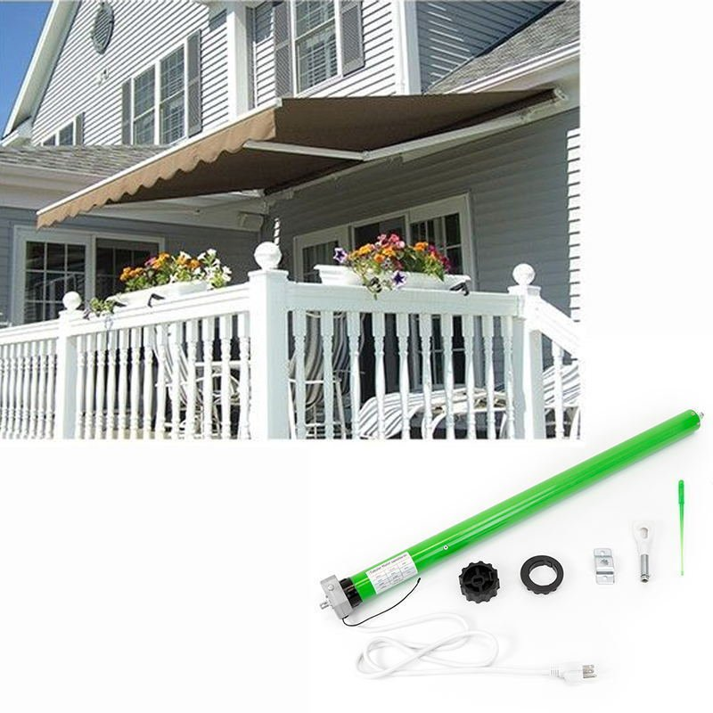 New 10 X 8 Patio Awning Outdoor Retractable Motorized