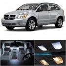 7x Xenon White LED Bulb Lights Interior Package Kit For Dodge Caliber 2007-2012