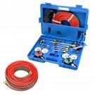 "VICTOR Type Gas Welding & Cutting Kit Oxygen Torch Tool w/Welding Hose 1/4""X 25'"