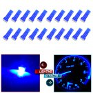 20x T5 1SMD Blue Instrument Cluster Panel Gauge Dash LED bulb light 37 73 74