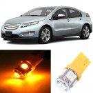 10x Yellow LED Bulb Lights Interior Package Kit For Chevrolet Volt 2011-2016