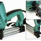 New 2 in 1 U&T Nail Crown Electric Stapler Brad Nail Staple Gun Pressure Adjust