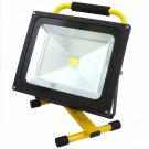 New Portable COB Super Bright LED Work Light Rechargeable Flood Lights 50W