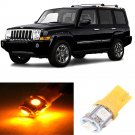 12pcs Yellow 5050SMD LED Interior Lights Package For 2006-2010 Jeep Commander