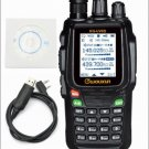 Wouxun KG-UV8D Dual 134-174/400-520MHz Cross-Band Repeater Two-way Radio + Cable