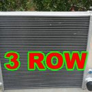 3 ROW for 1987-2002 Jeep Wrangler YJ & TJ Aluminum Radiator w/ Chevy V8 Engine