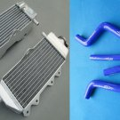 For Yamaha YZ125 YZ 125 2005-2013 06 07 08 09 11 12 Aluminum Radiator and HOSE