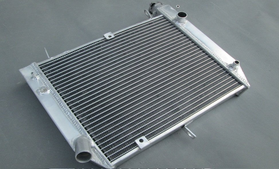 2 row 40mm Aluminium Radiator for Yamaha YZF R1 R 1 R-1 2000 2001 00 01