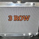 3 row Aluminum Radiator 59-1964 Chevy Mid Full Size Cars /64 1965 Chevy Chevelle