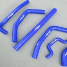 for KAWASAKI KXF250 KX 250 F KXF 250 2013 2014 13 14 silicone radiator hose BLUE