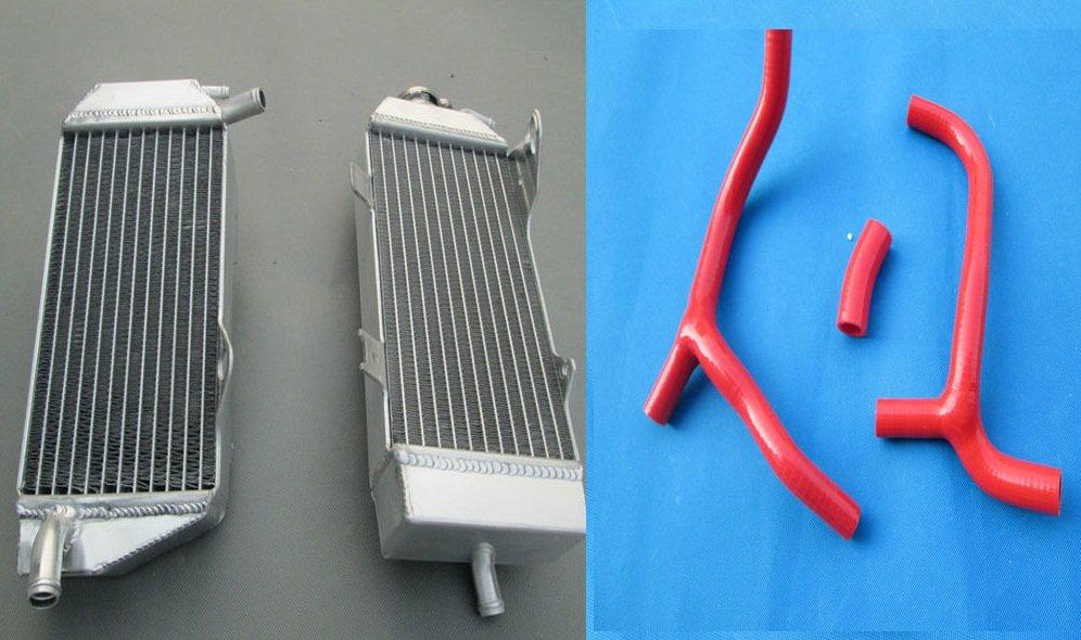 FOR Honda CRF450R CRF450 2009-2012 2009 2010 2011 2012 Aluminum radiator & hose