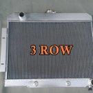 Aluminum Radiator 1972-1986 V8 Jeep CJ CHEVY CONVERSION 1973 1974 1975 76 77 78