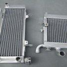 Aluminum radiator FOR HONDA RVF400 NC35 or NC30 VFR400 lower with fan bracket
