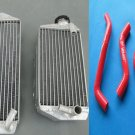 Aluminum Radiator & hose for SUZUKI RMZ450 RMZ 450 2007 07