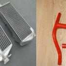 L&R aluminum radiator and hose for Suzuki RMZ 250 RMZ250 2010 2011 10 11 12