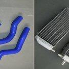 aluminum radiator and hose for Suzuki RM250 RM 250 2001-2008 02 03 04 05 06 07