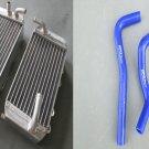L&R Aluminum Radiator and hose for Honda CRF150R CRF150 07 08 09 10 11 12 13