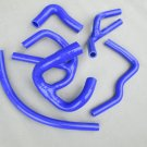 5PCS SILICONE RADIATOR HOSE AUSTIN/ROVER MINI COOPER S SPI 1275/1.3L 90-96 BLUE
