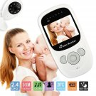 New Baby Monitor Wireless 2.4GHz Digital Color LCD Camera Night Vision Audio Video