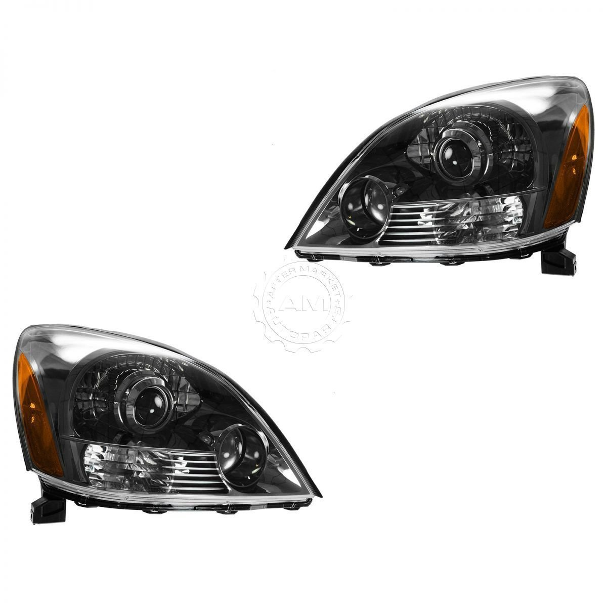New Headlight Headlamp LH and RH Pair Set for 2 for 03-09 Lexus GX470 Sport Package