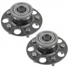 New Wheel Hub & Bearing Assembly Rear Left & Right Pair Set for Acura RSX Civic SI