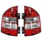 New Taillights Lamps Taillamps Rear Brake Lights Pair Set for 07-10 Jeep Compass