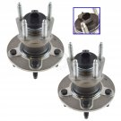 New Rear Wheel Hubs & Bearings Pair Set of 2 NEW for Chevy Pontiac Saturn 5 Lug