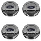 New OEM Wheel Hub Center Cap with Logo Set of 4 Chrome for Ford Expedition F150 New