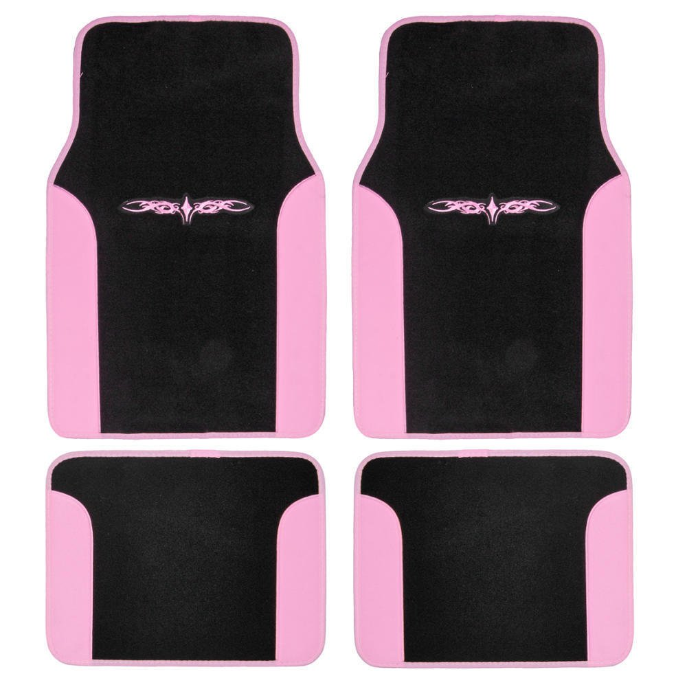 Car floor mats carpet tattoo design 2 tone color liner 4 for Tattoo shops hiring front desk