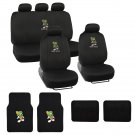 Original Marvin Martian Car Seat Cover And Floor Mats Full Gift Set Official