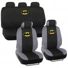 Batman Seat Covers for Car SUV Truck Full Set Front Rear Auto Accessories